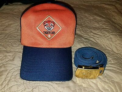 Boy Scouts Tiger Cub Hat and Belt