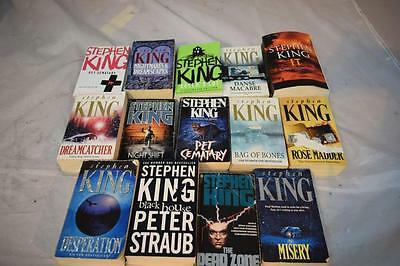 Collection of STEPHEN KING Paperbacks Job Lot