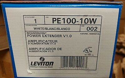 Leviton PE100-10W Power Extender Incandescent and Magnetic Low-Voltage, 1920W /