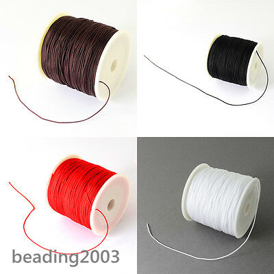 135m/Roll 0.5mm Diameter Nylon Threads Jewellery Beading Cords Sewing Threads