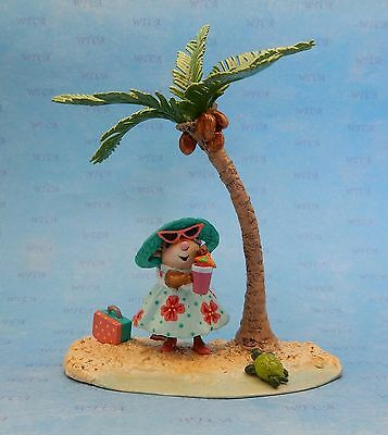 PARADISE ON EARTH by Wee Forest Folk, Mouse Expo 2017, Aqua, PRE-ORDER ONLY