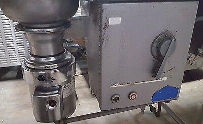 InSinkErator Commercial Disposal SS75 and Controller