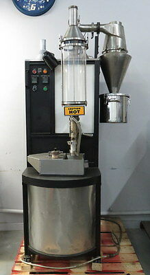 2009 Javamaster Model 2002 Commercial Coffee Espresso Bean Roaster Working