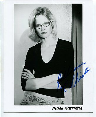 no reserve JILLIAN MCWHIRTER autograph HAND SIGNED with COA 8X10 #3503
