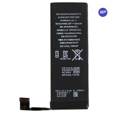 1560mAh Li-ion Internal Battery Replacement Flex Cable For iPhone 5S 5C