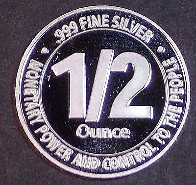 2008 AN Mint LDS Anarchist Bartering Currency 1/2 oz Silver Round - Rare Proof