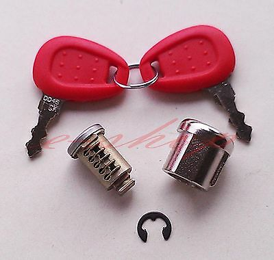 "Z661 GIVI Luggage Case Replacement Lock Keys & Barrel Set ""SALE"" NEW"