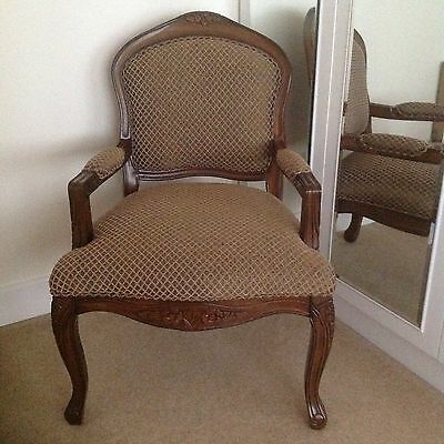 french louis style chair