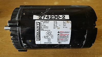 Hobart 2 HP 3 Phase Dishwasher Motor 274230-2 from C44-A