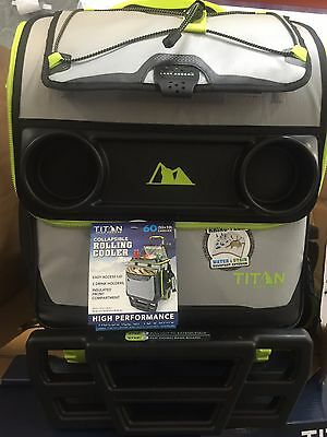 California Innovations Titan 60 Can Rolling Collapsible Cooler