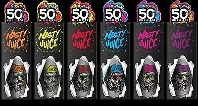 Nasty Juice Low Mint 50 ml 70/30 3mg Liquid Juice Special Offer