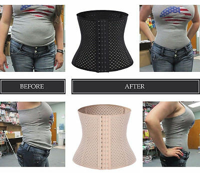 Slim Waist Tummy Girdle Sport Body Shaper Training Trainer Corset Cinchers FCB