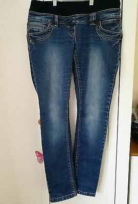red herring size 12 maternity skinny jeans. under bump. excellent condition