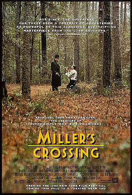 Miller's Crossing (1990) Original Movie Poster  -  Rolled  -  Double-Sided