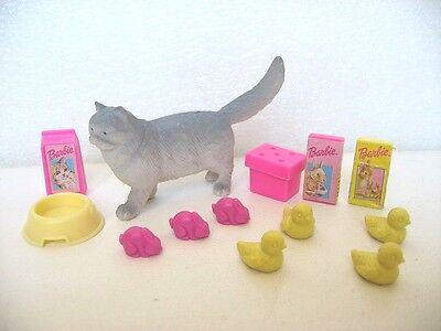 Figurines Animaux Chat Lapins Poussins  Accessoires Barbie Shelly F12