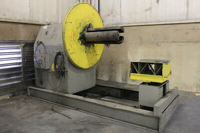"""20,000 LB x 36"""" Air Feeds Combination Coil Reel & Car Punch Press Feed Uncoiler"""