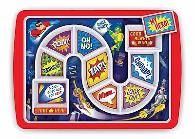 Fred Dinner Winner Hero Dinner Tray Kid's Dinner Tray (Assiette-Menu)