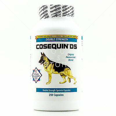 NutramaxCOSEQUIN DS Double-Strength For Dogs Sprinkle Capsules 250 Count Ct