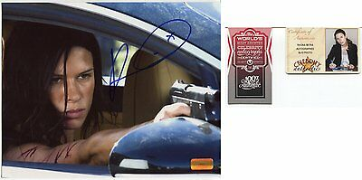 RHONA MITRA autograph HAND SIGNED  8 X 10 with COA LOT 1232
