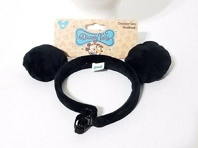 Disney Parks Mickey Mouse Plush Pet Ears Headband for Pets Dogs/Cats One Size