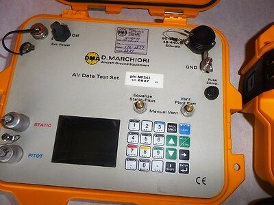 DMA Aero MPS43 Aircraft Precision Ultra ADTS Compact Digital Air Data Test Set