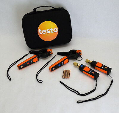 Testo Smart Probes 549i / 115i Refrigeration Kit HVAC