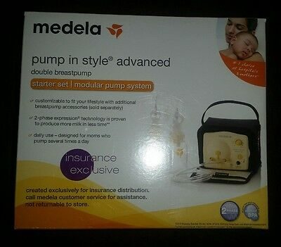 Factory Sealed NEW Medela Pump-In-Style Advanced Double Breastpump
