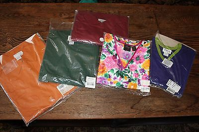 New Grab Bag Misc. Lot of 5 QVC Clothes Shirts Sweater Silk Knit Tops Button Up