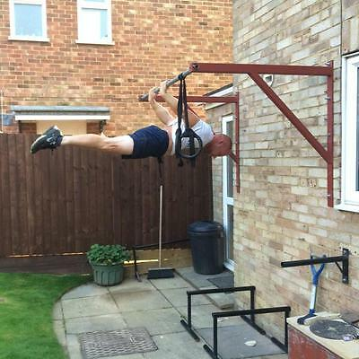 Wall Mounted Pull up bar ''GROM FITNESS''