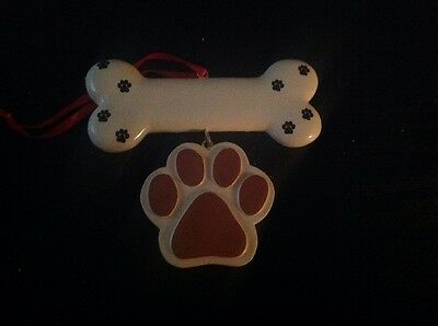 Generic Dog Personalized Christmas Ornament Brown