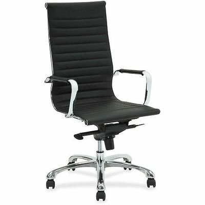 Lorell Modern Chair Series High-back Leather Chair 59537