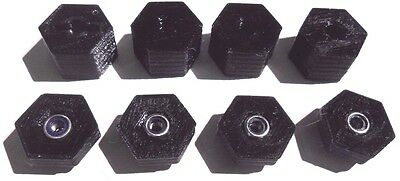 17mm Hex adapter set of 4 fits Traxxas Slash 4x4, Stampede 4x4, Rally 1/10