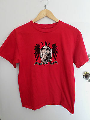 Black Butler Sebastian And Ciel Coat Of Arms Anime T Shirt Size M Red