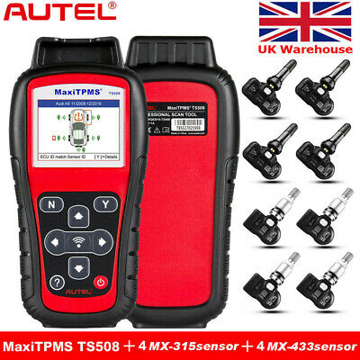Autel Maxidiag Elite MD802 4 System Full Sys OBD2 Code Scanner Diagnostic Tool