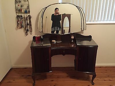 Authentic 1930s Vintage Dressing Table Excellent Condition