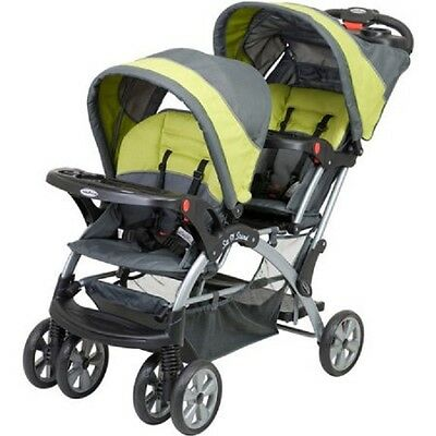 Baby Trend Sit N Stand Double, Carbon, Dual Baby Stroller, Infant Stroller, NEW