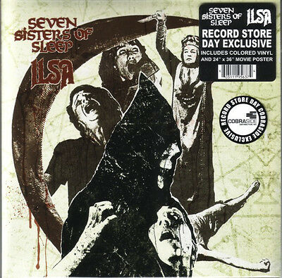 """Seven Sisters Of Sleep / Ilsa – Messiah And The IVth Crusade on Red 7"""" Vinyl"""