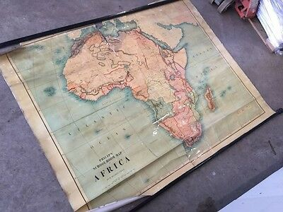 Big wall/school Map of Africa