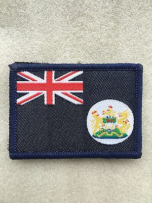 Hong Kong, Colony of Great Britain Flag Embroidered Emblem TRF/Patch/Badge Small