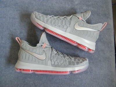 57d4d1415de NIKE AIR ZOOM KD9 KD 9 IX Preheat WOLF GREY Elite sz 11 DS NEW NIB ...