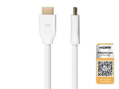 Monoprice® Certified Premium High-Speed HDMI® Cable - HDR 6ft