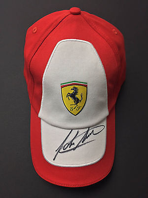 John SURTEES Autograph Ferrari In Person Signed CAP AFTAL COA Grand Prix