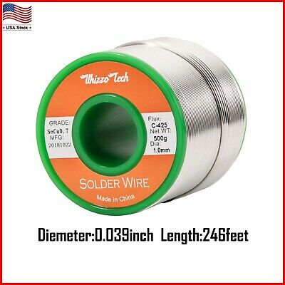 1mm Lead Free Rosin Core Solder Wire Sn99.3 Cu0.7 for Electronic 500g