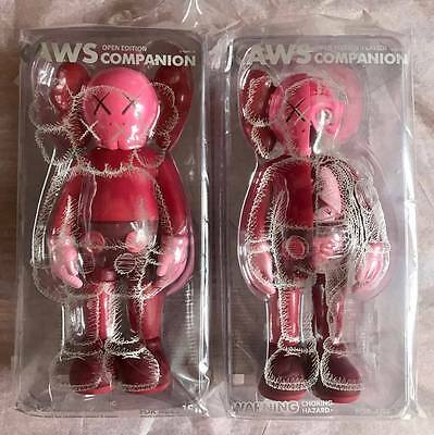 Set of 2 Kaws Blush Companions - 2017 - Released at Yuz Museum, Shangai