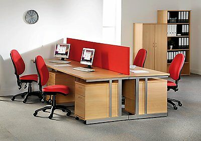 Office Straight Desk 6 Sizes & 5 Colours