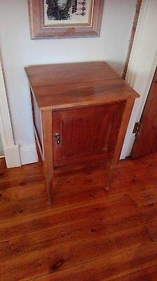 ANTIQUE  French  Pot Cupboard~Bedside Cabinet~Lamp Table, Mahogany