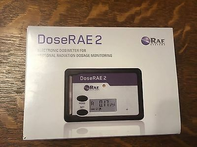 DoseRAE 2 Personal Radiation Dosage Monitor