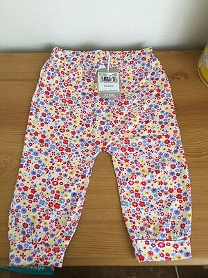 *BNWT*Baby Girls*Floral*Harem Trousers*Aged 6-9 Months