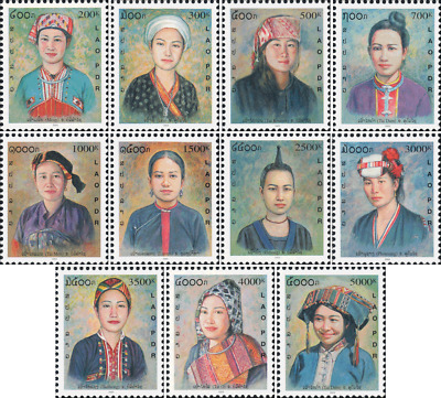 Costumes of ethnic groups (IV) (MNH)