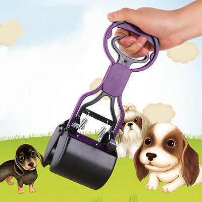 Dog Pooper Scooper Pet Waste Clean Scoop Pick Up Remover Shovel Long Handle UK